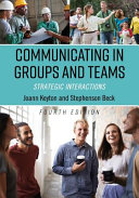 Communicating in Groups and Teams Book