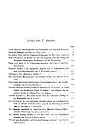 Mittheilungen des Instituts für Oesterreichische Geschichtsforschung: Band 5