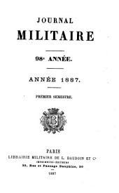 Journal Militaire Officiel: nouv. ser, Partie1