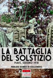 La battaglia del solstizio: Piave, Giugno 1918
