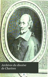 Archives du diocèse de Chartres: Volume13