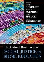 The Oxford Handbook of Social Justice in Music Education PDF
