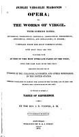 Opera  Or The Works of Virgil PDF