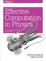 Effective Computation in Physics PDF