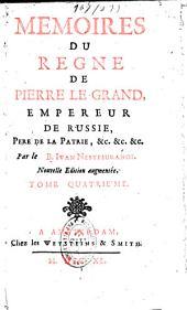 Mémoires du règne de Pierre le Grand