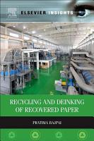 Recycling and Deinking of Recovered Paper PDF