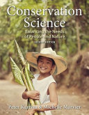 Conservation Science  Balancing the Needs of People and Nature PDF