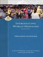 Introducing World Missions  Encountering Mission  PDF
