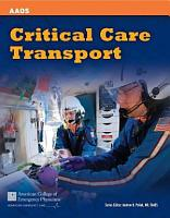 Critical Care Transport PDF