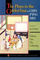 The Plum in the Golden Vase or  Chin P ing Mei  Volume One PDF
