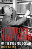 Hitchcock and Adaptation PDF