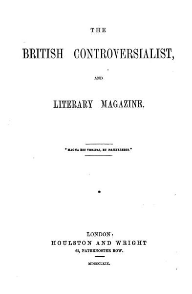 Download The British Controversialist  and Literary Magazine Book