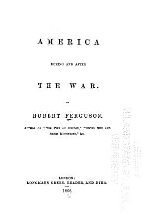 America During and After the War PDF