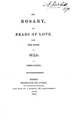 The rosary  or Beads of love  verse   With the poem of Sula