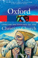 The Concise Oxford Dictionary of the Christian Church PDF