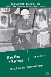 Mau Mau in Harlem  Book