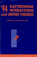 94 Electroweak Interactions and Unified Theories PDF