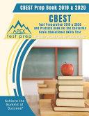 CBEST Prep Book 2019   2020