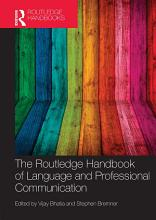 The Routledge Handbook of Language and Professional Communication PDF