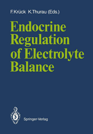 Endocrine Regulation of Electrolyte Balance