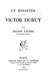 Un ministre: Victor Duruy
