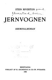 Jernvognen: kriminalroman