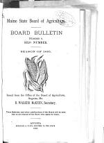 Board Bulletin - Maine Board of Agriculture