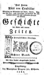 Geschichte der ältern und neuern Zeiten: 8