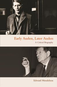 Early Auden  Later Auden PDF
