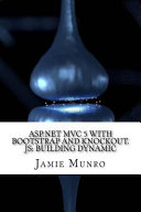 Asp net Mvc 5 With Bootstrap and Knockout js Building Dynamic