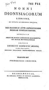 Dionysiacorum libri sex