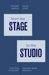 From The Stage To The Studio Book PDF