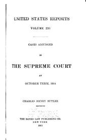 United States Reports: Cases Adjudged in the Supreme Court, Volume 235