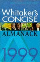 Whitaker s Concise Almanack 1999 PDF