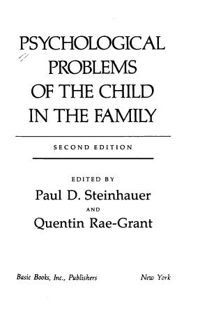Psych Problem Child PDF