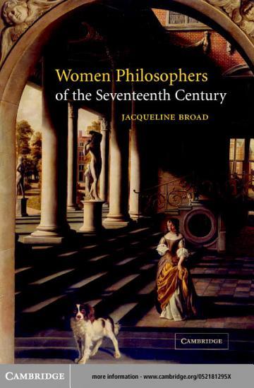 Women Philosophers of the Seventeenth Century PDF