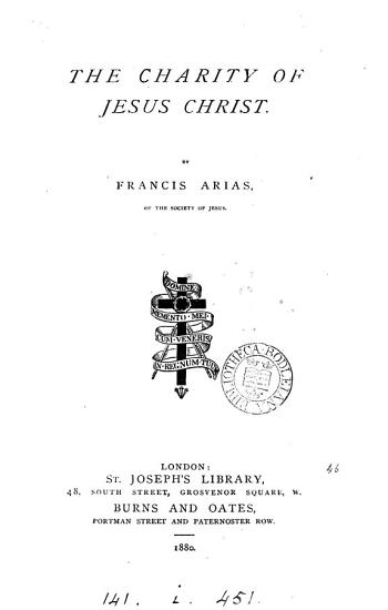 Charity of Jesus Christ PDF