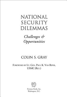 National Security Dilemmas PDF