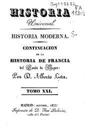 Historia moderna: Continuacion de la histroia de Francia, Volumen 21