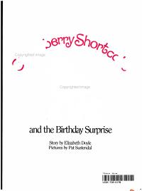 Strawberry Shortcake and the Birthday Surprise PDF