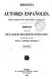 Obras publicadas e inéditas de Gaspar Melchor de Jovellanos, 1