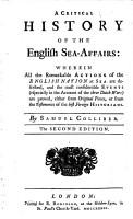 Columna rostrata  A critical history of the English sea affairs     The second edition PDF