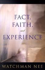 Fact  Faith  and Experience PDF