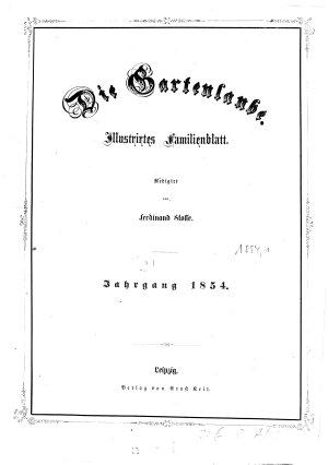 Die Gartenlaube Berlin PDF