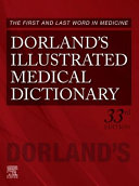 Dorland s Illustrated Medical Dictionary PDF