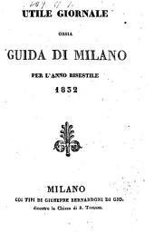 Guida Milanese: Per L' Anno, Volume 6;Volumi 8-9