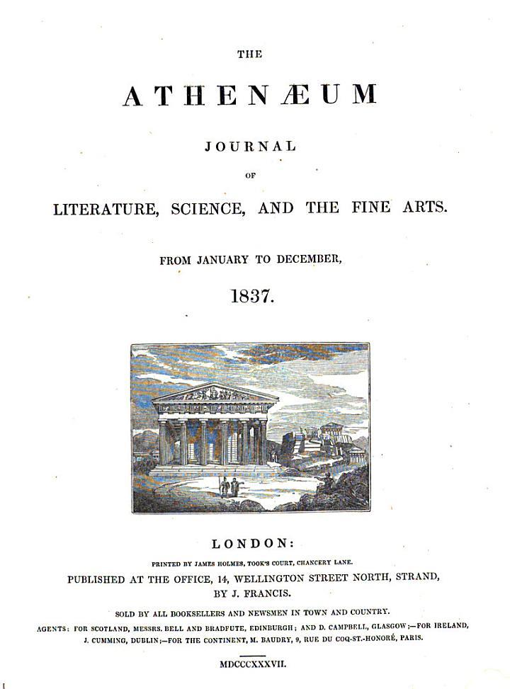 """The"" Athenaeum"