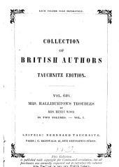 Mrs. Halliburton's Troubles: In Two Volumes, Volume 1