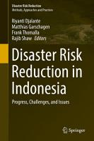 Disaster Risk Reduction in Indonesia PDF