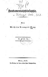 Philosophische Werke: Volume 1